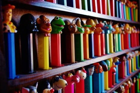 Collection de PEZ / 2013