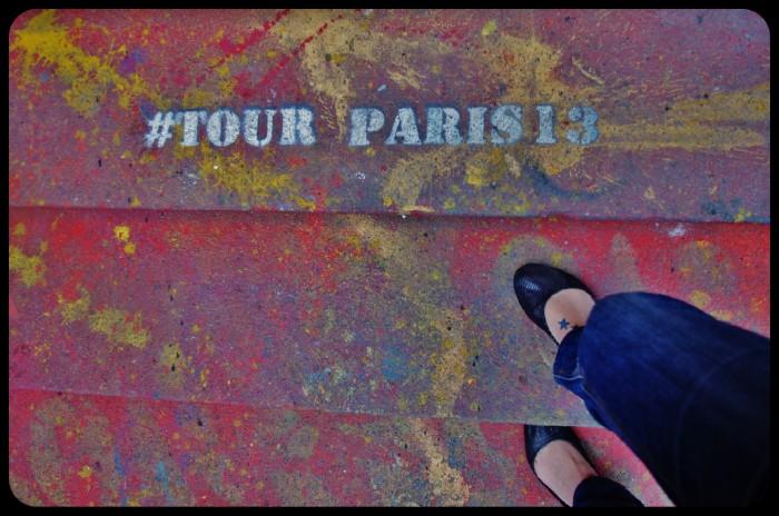 La tour Paris 13 / 2013