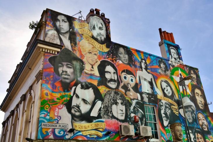 Brighton /UK2017. BY SINNA 1 & REQ