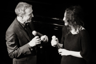 2013/ Alain Chamfort et Camélia Jordana au Grand Rex