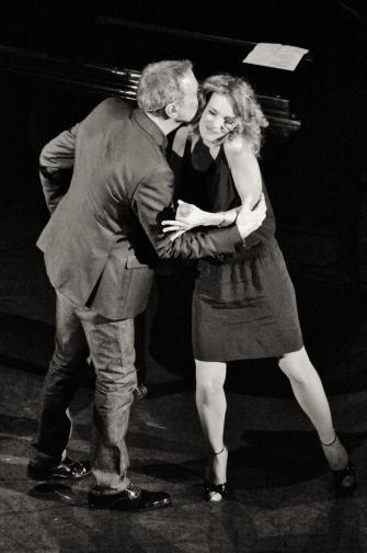 2013/ Alain Chamfort et Claire Keim au Grand Rex