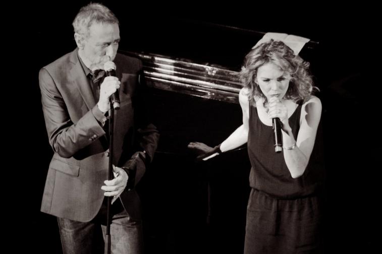 2013 / Alain Chamfort et Claire Keim au Grand Rex