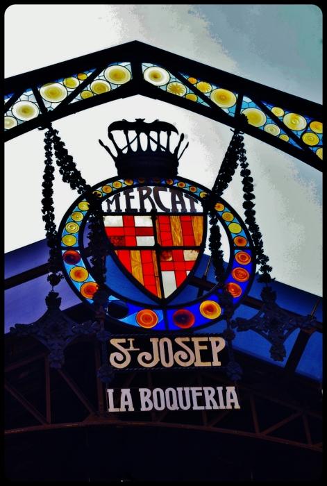 Le marché de la Boqueria/Barcelone 08.2013