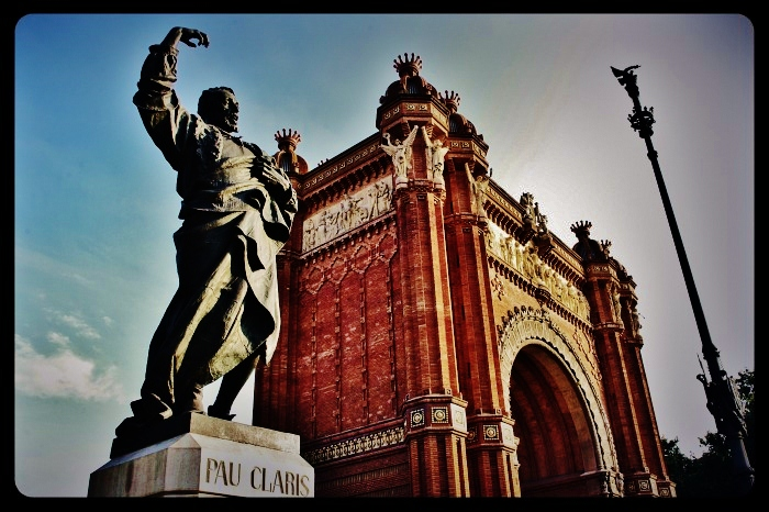 Arc de triomf/Barcelone 08.2013