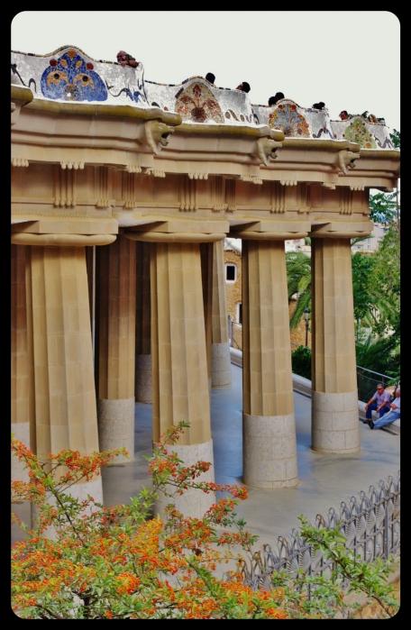 bancs-colonnes/parc guell Barcelone 08.2013