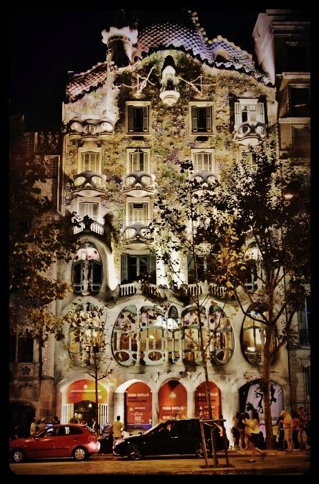 casa batllo /Barcelone 08.2013