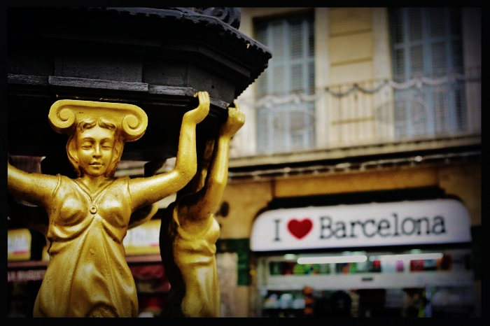 I love Barcelone