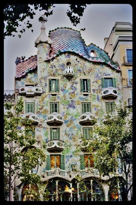 la casa Batllo/ Barcelone 08.2013