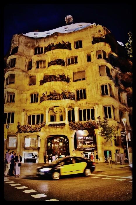 la Pedrera de nuit/Barcelone 08.2013