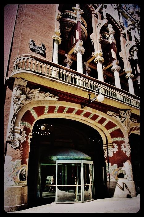 le palais de la musique/Barcelone 08.2013