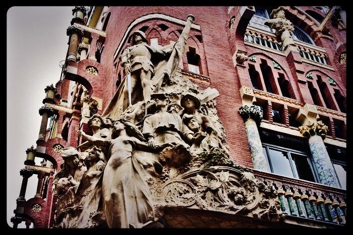 Palais de la musique/Barcelone 08.2013