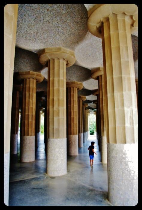 colonnes parc guell 2013
