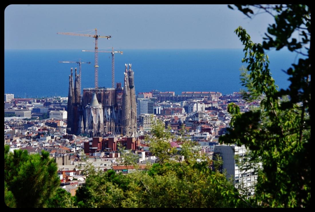 sagrada familia/Barcelone 08.2013