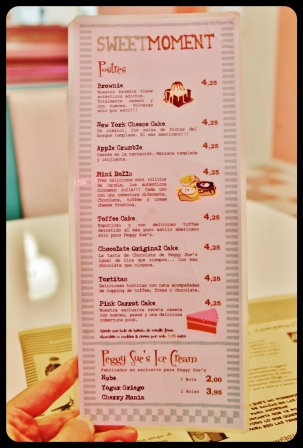 Carte Peggy Sue