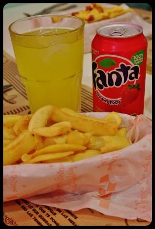 Fanta fraise.frites