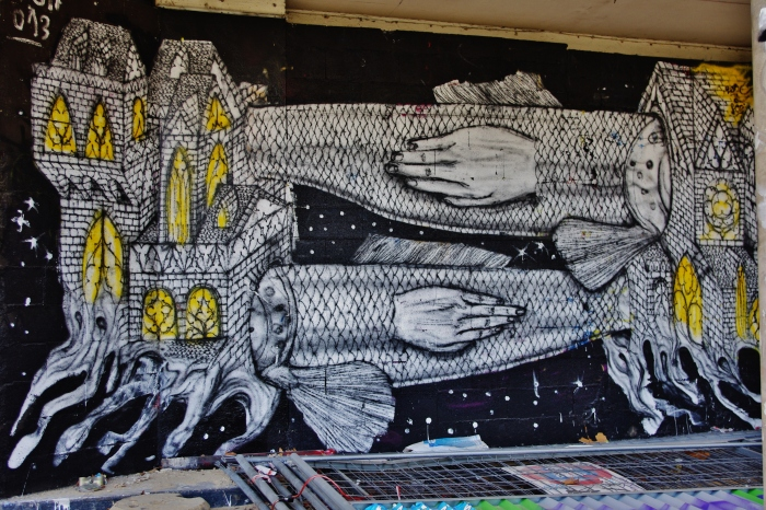 Graff/Tour Paris 13 / 2013