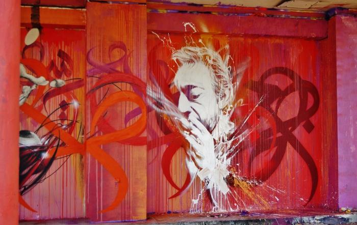 Gainsbourg graff/Tour Paris 13 / 2013