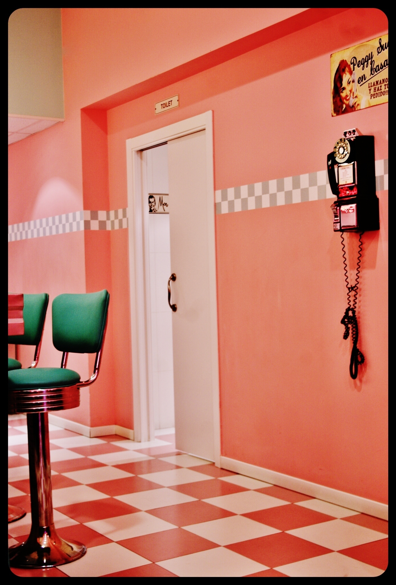 Restaurant Peggy Sue's / Barcelone 2013