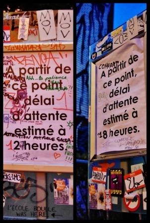 Panneaux Tour Paris 13