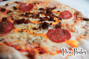 pizza Elvis presley .