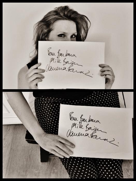 juin 2015 / autographe de Vanessa Paradis