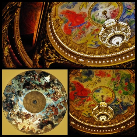 plafond opéra Garnier avant-après