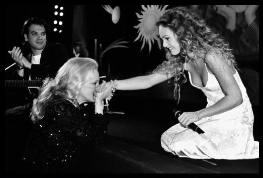 Vanessa Paradis et Jeanne Moreau