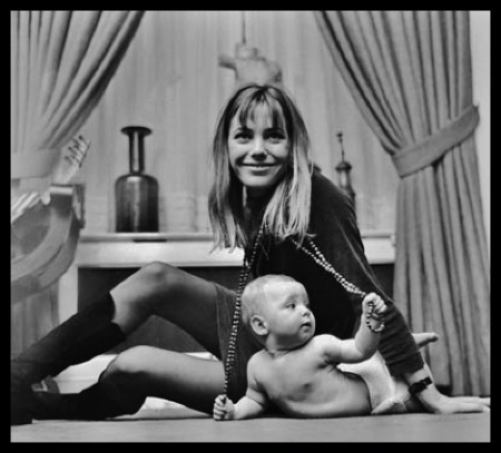 kate Barry et sa mère Jane Birkin
