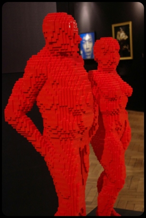 "everlasting/Expo ""Art of the brick"". Bruxelles 2014"