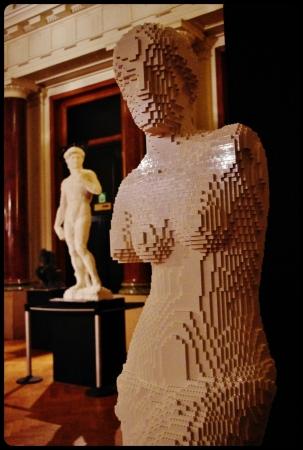 """La vénus de Milo/Expo """"Art of the brick"""". Bruxelles 2014"""