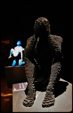 "Expo ""Art of the brick"". Bruxelles 2014"
