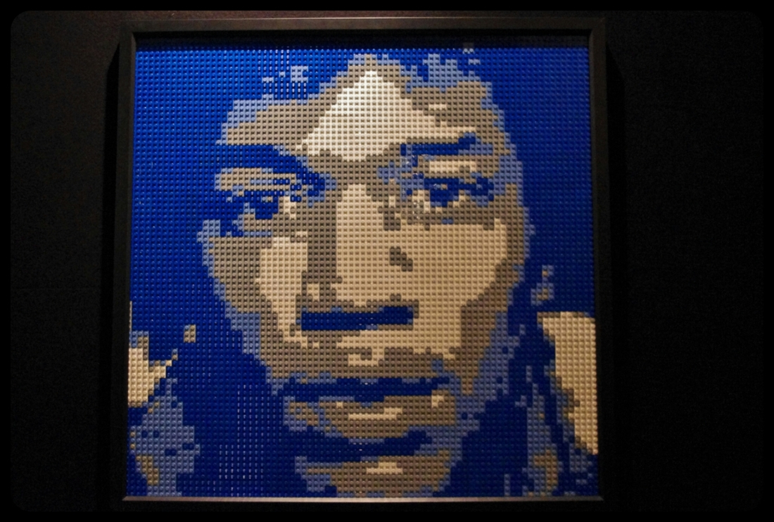 "Jimmy Hendrix/Expo ""Art of the brick"". Bruxelles 2014"