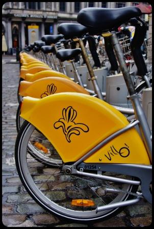Vélib à Bruxelles