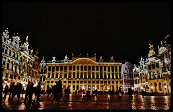Grand Place/Bruxelles 2014
