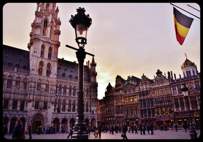 La grande place.Bruxelles