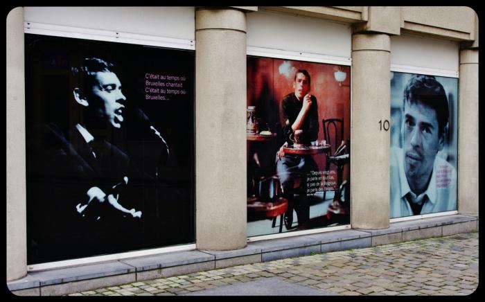 Jacques Brel . Bruxelles