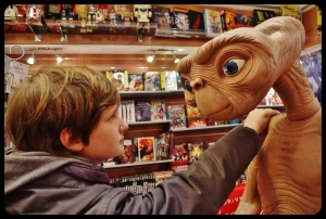 E.T l'extraterrestre et Elliot