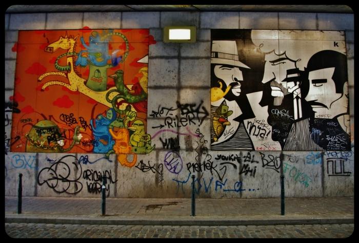 Rue Terre Neuve.Bruxelles