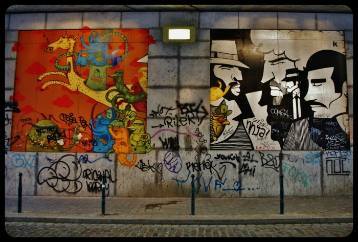 Rue Terre Neuve./Bruxelles 2014