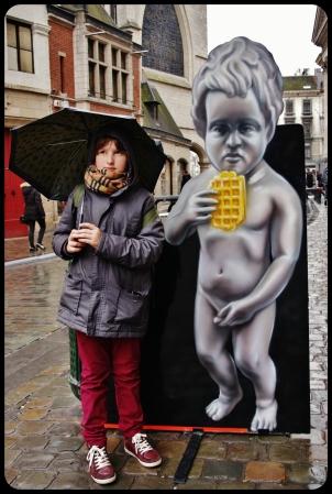 Elliot à Bruxelles
