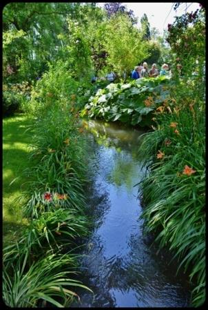 jardin d'eau à giverny