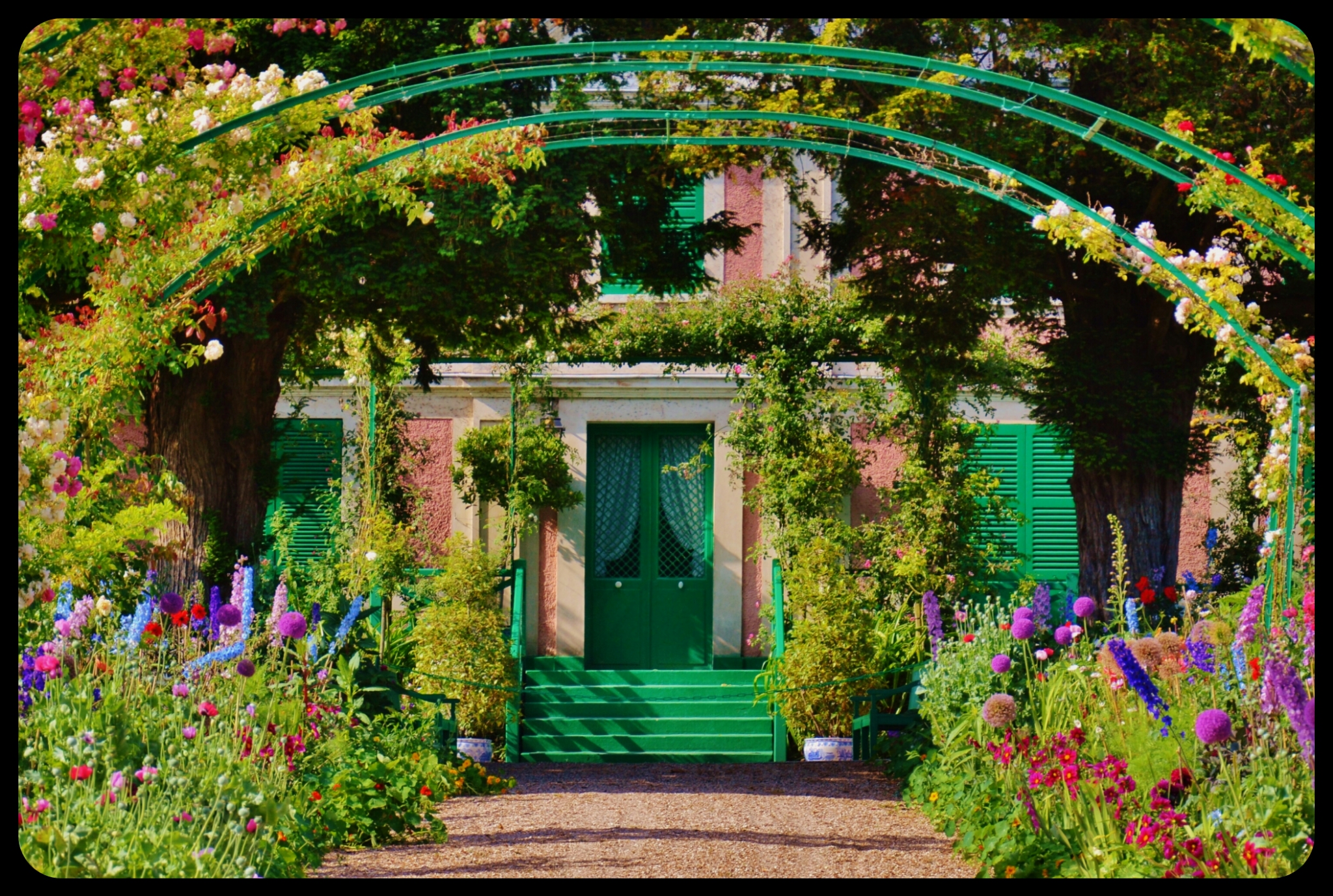 Giverny barbara eichert for Jardines monet