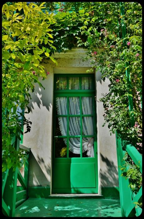 porte maison de giverny