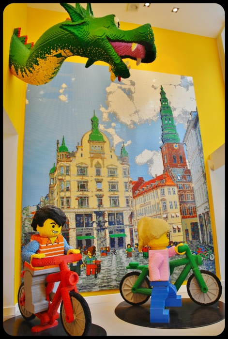 BOUTIQUE LEGO DANEMARK 2014