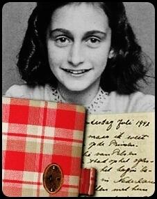 Anne Frank book