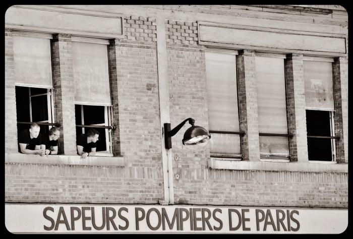Sapeurs Pompiers /Paris/ canal St Martin 2015