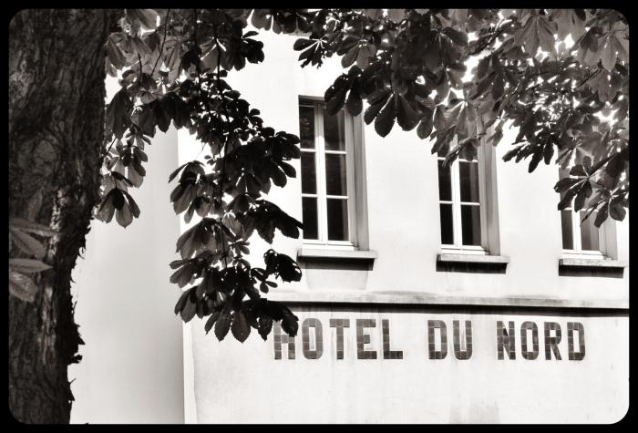 Canal Saint-Martin 2015. Hotel du Nord/PARIS