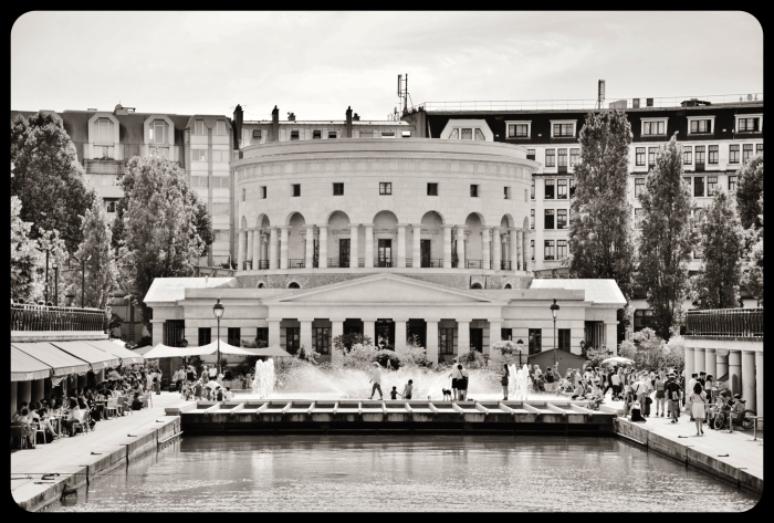 Rotonde de la Vilette. 2015 Paris