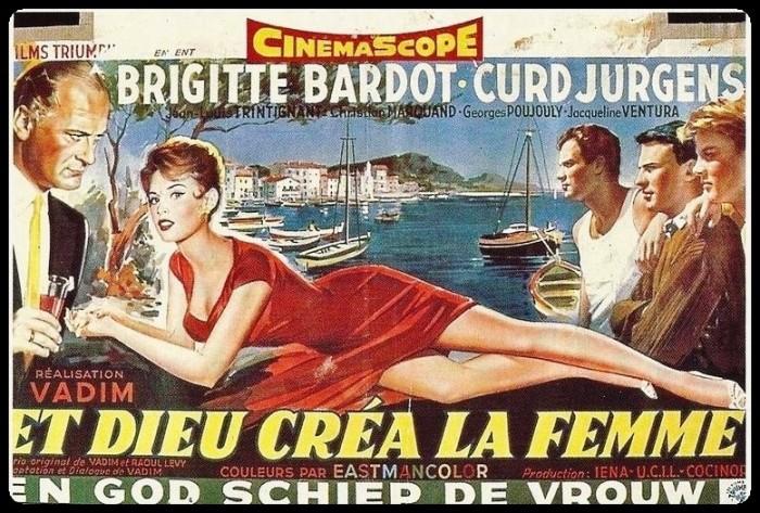 """affiche du film """"Et Dieu créa la femme"""""""