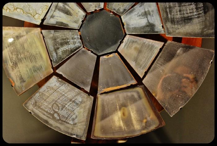 Miroir circulaire de Buffon à foyer variable.Musée des arts et des métiers 2015